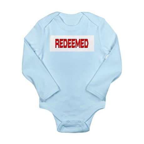 Redeemed Long Sleeve Infant Bodysuit