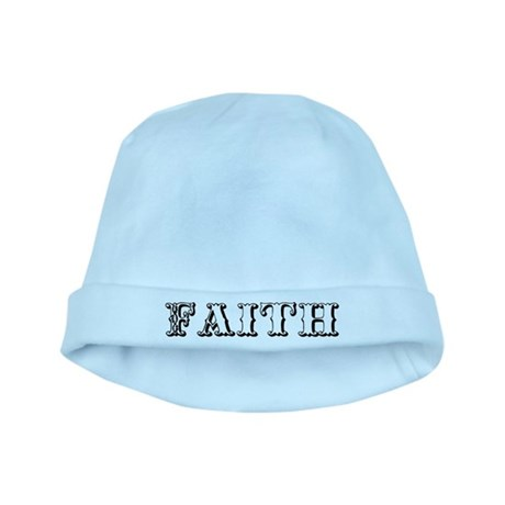 Faith baby hat