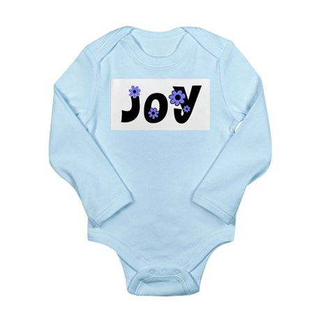 Joy Long Sleeve Infant Bodysuit