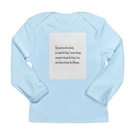 Serenity Prayer Long Sleeve Infant T-Shirt