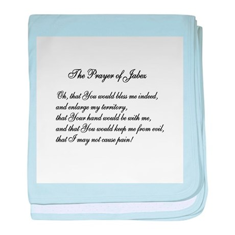 The Prayer of Jabez baby blanket