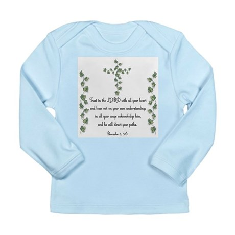 Proverbs Long Sleeve Infant T-Shirt