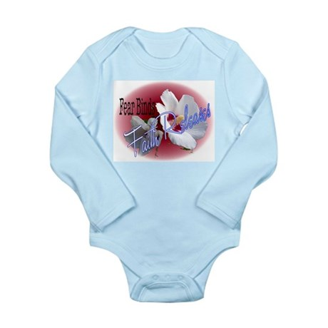 Faith Releases Long Sleeve Infant Bodysuit