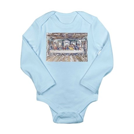 Last Supper Long Sleeve Infant Bodysuit