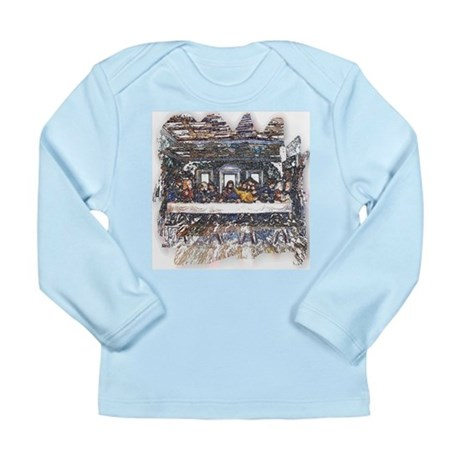 Lord's Last Supper Long Sleeve Infant T-Shirt