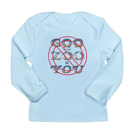 Anti-Evolution Long Sleeve Infant T-Shirt