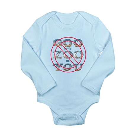 Anti-Evolution Long Sleeve Infant Bodysuit