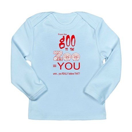 Anti Evolution Long Sleeve Infant T-Shirt