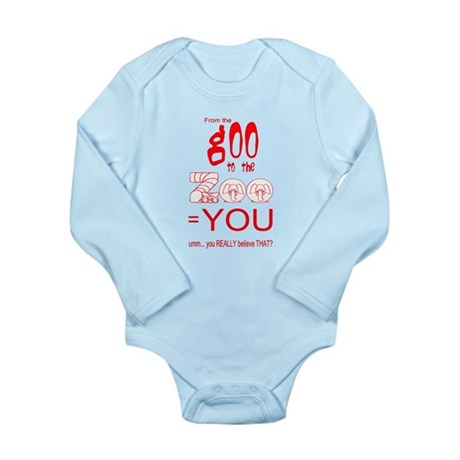Anti Evolution Long Sleeve Infant Bodysuit