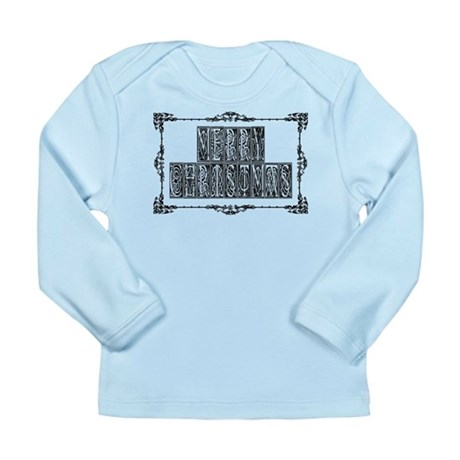 Merry Christmas Long Sleeve Infant T-Shirt