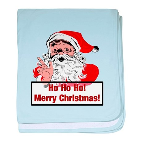 Santa Clause baby blanket