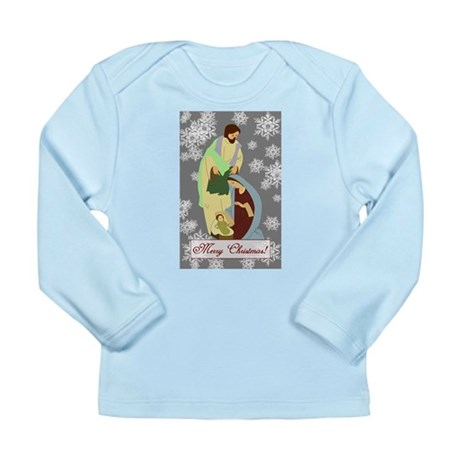 The Nativity Long Sleeve Infant T-Shirt