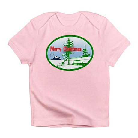 Winter Scene Infant T-Shirt
