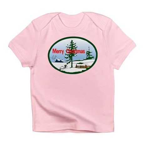 Christmas Snow Infant T-Shirt