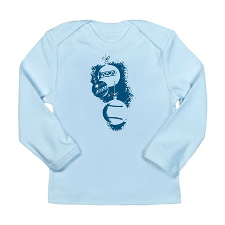 Christmas Ornaments Long Sleeve Infant T-Shirt
