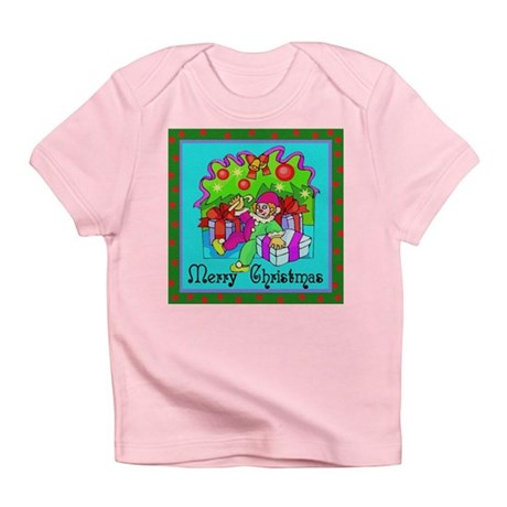Merry Christmas Clown Infant T-Shirt