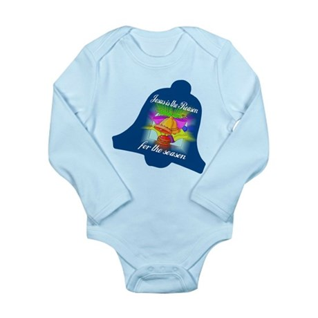 Jesus is the Reason Long Sleeve Infant Bodysuit