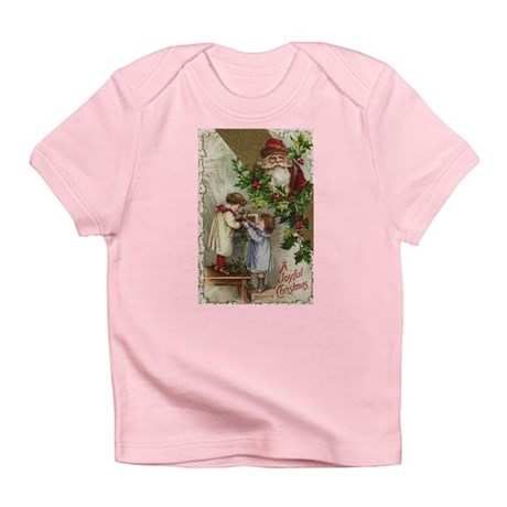 Vintage Christmas Card Infant T-Shirt