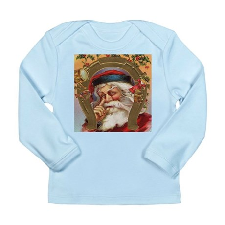 Vintage Santa Long Sleeve Infant T-Shirt