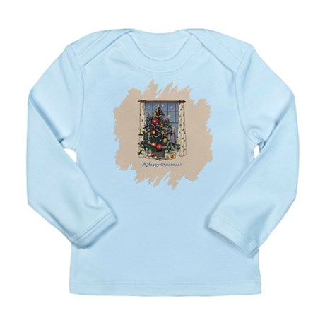 Christmas Tree Long Sleeve Infant T-Shirt