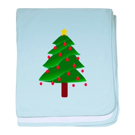 Christmas Tree baby blanket