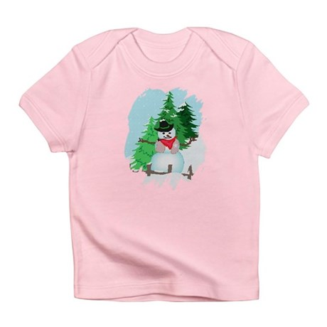 Forest Snowman Infant T-Shirt