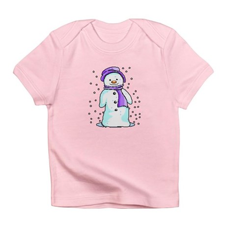 Happy Snowman Infant T-Shirt
