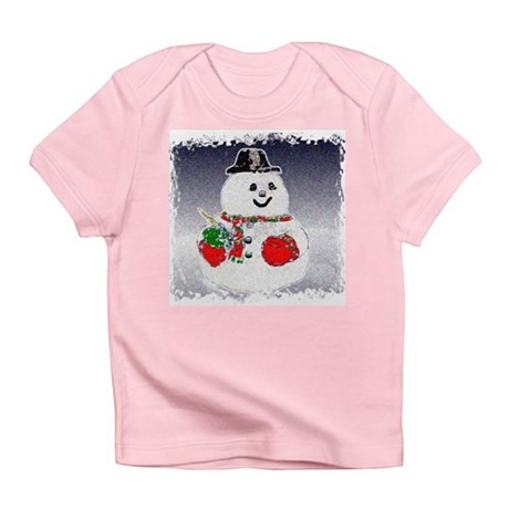 Winter Snowman Infant T-Shirt