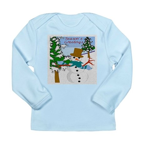 Season's Greetings Long Sleeve Infant T-Shirt