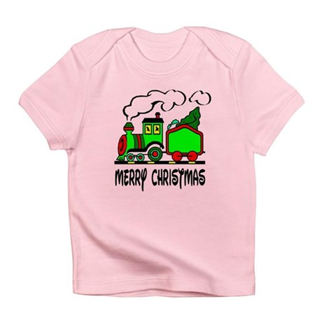 Christmas Train Infant T-Shirt
