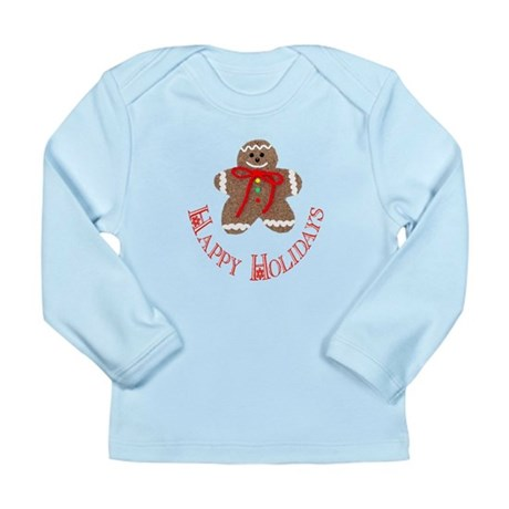 Gingerbread Holidays Long Sleeve Infant T-Shirt