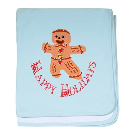 Gingerbread Man baby blanket