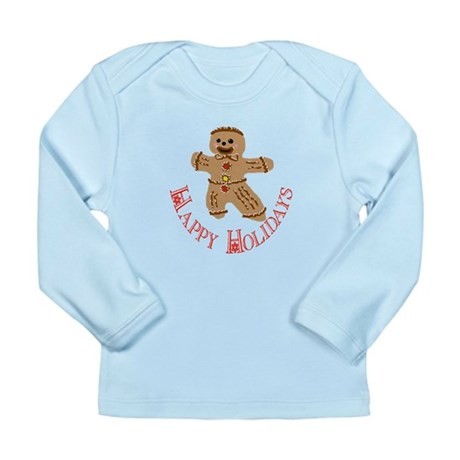 Gingerbread Man Long Sleeve Infant T-Shirt