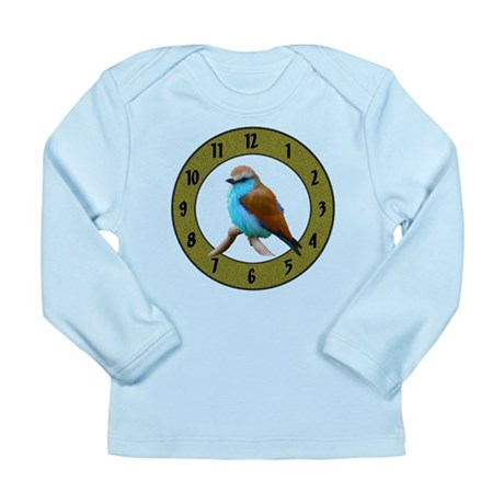 Clocks Long Sleeve Infant T-Shirt
