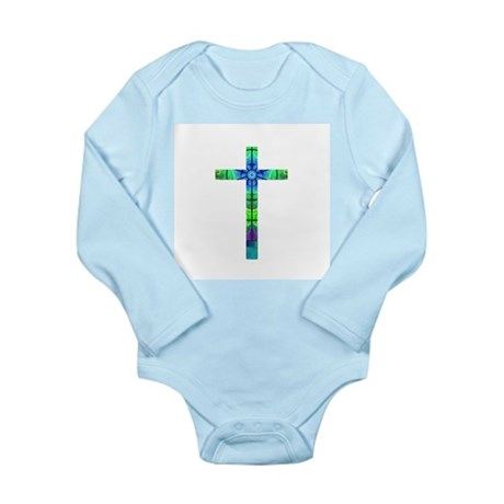 Cross 013 Long Sleeve Infant Bodysuit