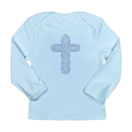 Pastel Cross Long Sleeve Infant T-Shirt