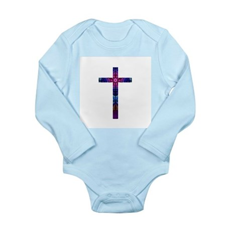 Cross 012 Long Sleeve Infant Bodysuit