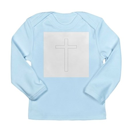 Simple Cross Long Sleeve Infant T-Shirt