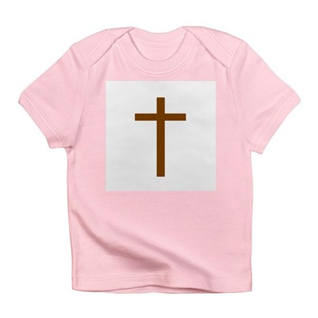 Brown Cross Infant T-Shirt