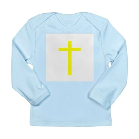 Yellow Cross Long Sleeve Infant T-Shirt