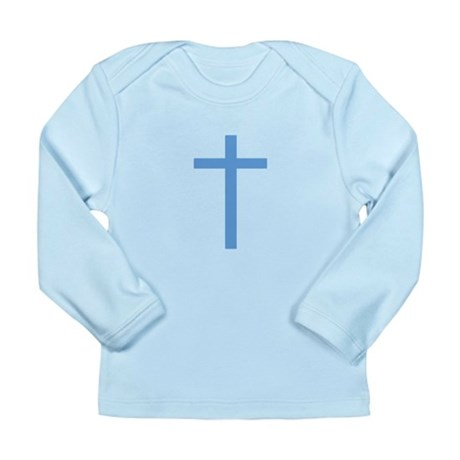 Blue Cross Long Sleeve Infant T-Shirt