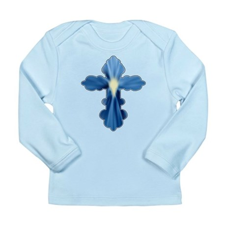 Holy Spirit Cross Long Sleeve Infant T-Shirt