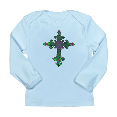 Jewel Cross Long Sleeve Infant T-Shirt