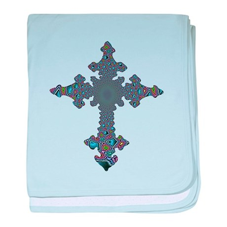 Jewel Cross baby blanket