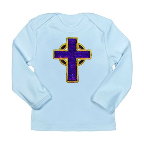 Celtic Cross Long Sleeve Infant T-Shirt