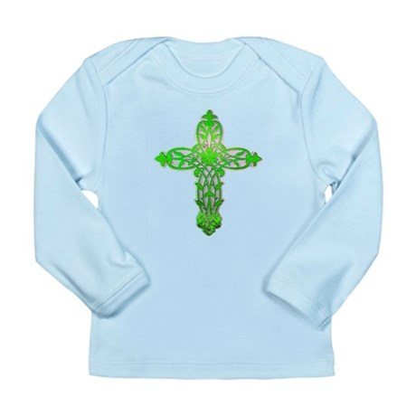 Victorian Cross Long Sleeve Infant T-Shirt
