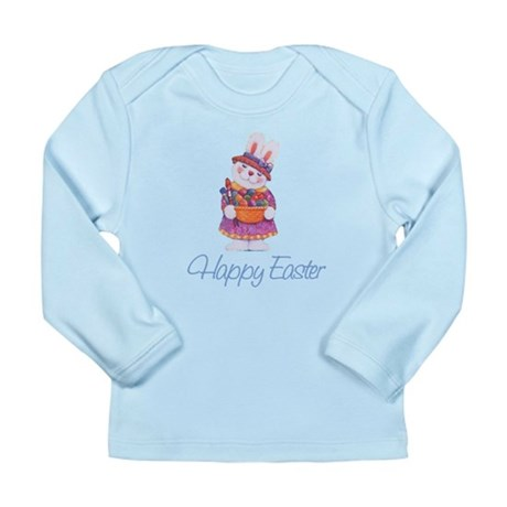 Happy Easter Bunny Long Sleeve Infant T-Shirt