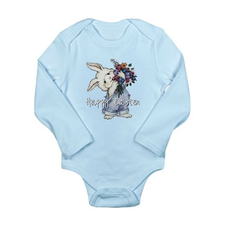 Easter Bunny Long Sleeve Infant Bodysuit