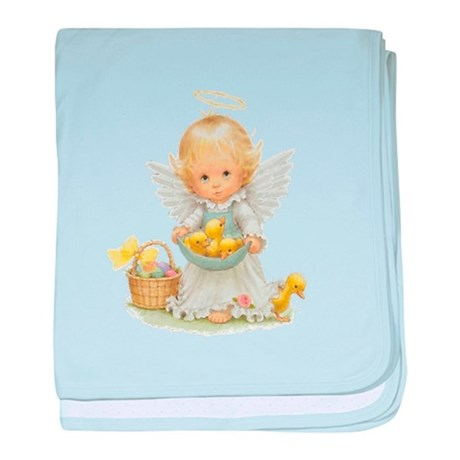 Easter Angel baby blanket