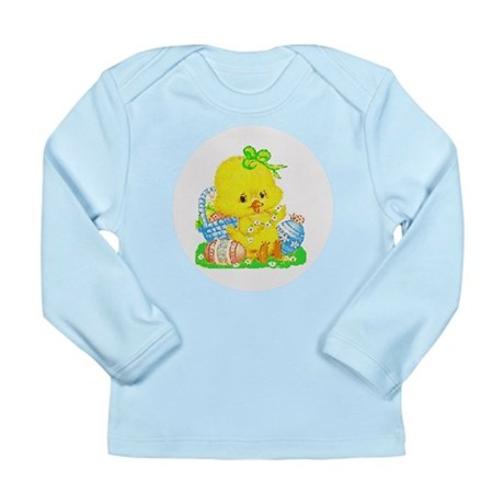 Easter Duckling Long Sleeve Infant T-Shirt